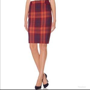 NWT The Limited plaid skirt (sz 12)